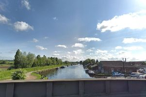 The Aire and Calder Navigation in Castleford (Photo: Google).