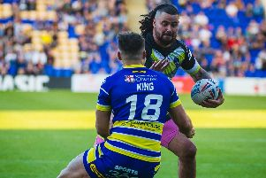 David Fifita has been ruled out of Friday's clash with a foot injury. PIC: James Heaton.