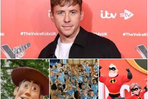 Danny Jones has joined kids in a 10 Minute Shake Up, along with some of your favourite Disney films. (pics jpimedia/Getty)