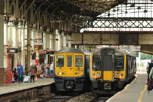 Trains are delayed from Preston