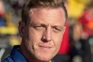 Featherstone Rovers coach Ryan Carr.