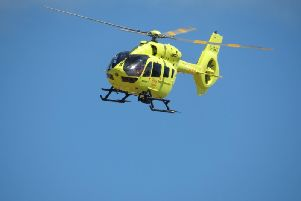 Yorkshire Air Ambulance confirmed that they attended a medical incident earlier today in Bridlington