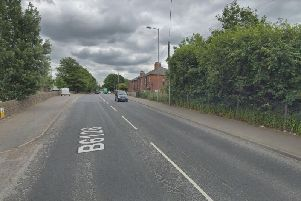 Three vehicles were involved in the collision on Owl Lane, Ossett, last night. Picture: Google Maps.