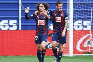 Marc Cucurella spent the second half of last season on loan at Eibar