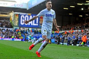 Pablo Hernandez, who scored Leeds United's first goal of the new season.