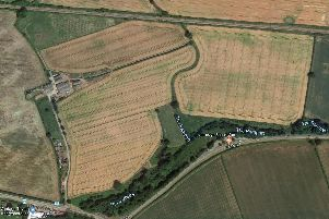 The Highfield Farm site off the A59.