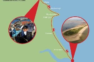 The Yorkshire Coastal Road Route.