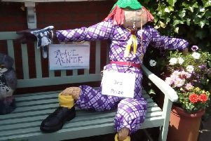 South Hiendley celebrates its first scarecrow festival
