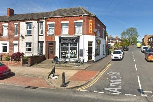 The cafe sits on the corner of Leeds Road and Annie Street in Outwood. (Google Maps)