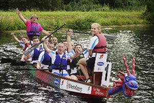 Forget Me Not Children's Hospice is calling on local businesses, groups and teams from across West Yorkshire to take part in its Dragon Boat Race on September 14