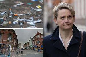 Yvette Cooper MP calls for 'urgent' action after drug crimes in Castleford double in five years