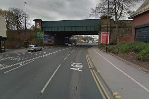 The overnight closure of the A61 at Wakefield is expected to cause delays this weekend - before two months of works are carried out at the site. Picture: Google Maps