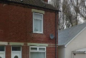 The end terrace in Castleford (Google Maps)