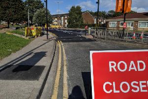 Stanley Road had been closed to all traffic while Northern Gas Network replaced more than 670m of pipes.Pictured yesterday, the road has now reopened.
