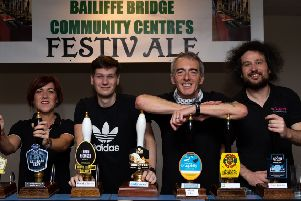 Bringing Cheer: Organisers of FestivALE are hoping to make this year's event the best ever.