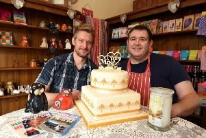 Will Catlin and Stephen Blundell in their new venture