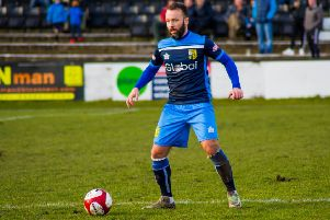 Aaron Hardy was Tadcaster Albion's match-winner at Kendal. Picture: Matthew Appleby