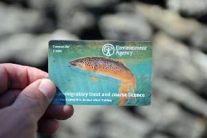 Police in Kirklees involved in Operation Traverse are challenging anyone seen fishing to produce their rod licence.