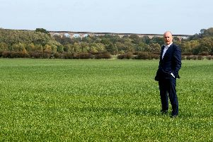Rupert Visick on behalf of Forward Investments at the land at Crimple Valley.