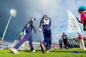 HAVING A BLAST: Will 2019 be the year Yorkshire Vikings end their wait for T20 silverware? Picture: Allan McKenzie/SWpix.com