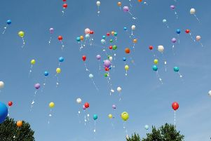 Balloons are increasingly released for celebrations and commemorations