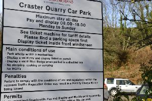 The charges will be increasing in the car park in Craster, among other coastal locations.