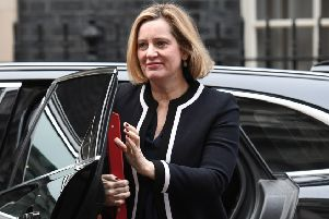 Work and Pensions Secretary Amber Rudd has suggested there is a link between Universal Credit and increased use of food banks.
