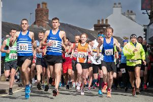 Launch of the 2019 Garstang Gallop (photo: Mark Ritson)