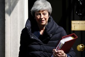 Theresa May was all smiles as she left for PMQs on Wednesday, thanks to the knowledge that Ilkeston Town had won the league.