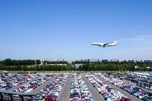 The cost of parking at airports