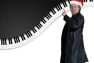 The rock pianist will be at the Royal Hall, Harrogate, later this year