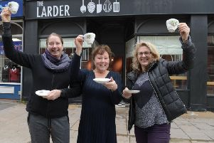Helen Weir and Kay Johnson from The Larder