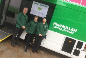 Macmillan Mobile Information and Support Team