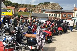 The annual Scooter Ride Out in Whitby raised �1,920.02 for Bloodwise.
