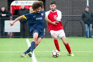 Kurt Henderson scored four goals for Angel in their 9-0 win over AFC Acklam