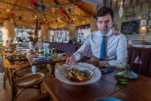 General Manager Stelian Cristea at The Star Inn The Harbour, Whitby.