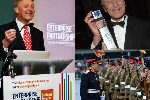 Lord-Lieutenant for North Yorkshire Barry Dodd CBE.