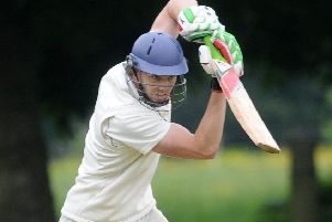 Dave Girling top-scored for Knaresborough in Saturday's defeat to Sheriff Hutton Bridge 2nds