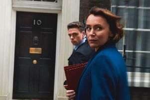 Keeley Hawes and Richard Madden star in Bodyguard.