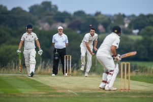 Charlie Swallow starred for Collingham & Linton as they beat Leeds Modernians. Picture: James Hardisty
