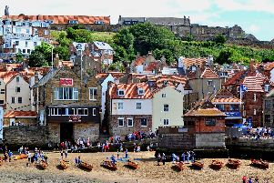 The summer sun brought tourists flocking to Whitby in 2018.