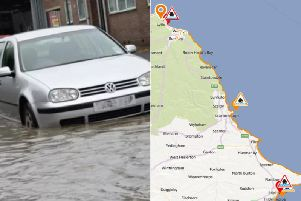Large and powerful waves are set to hit Yorkshire