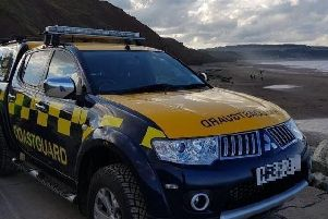 The Coastguard was called last night at 10pm