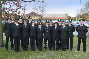 The new officers will now be assigned to their local policing teams