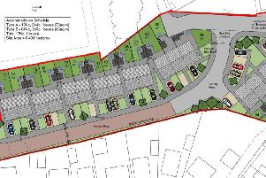 The plans for 17 new homes on land off Ormerod Street in Thornton
