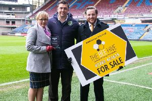 Luke Robinson and Vanessa Robinson, directors at The Bee Hive, celebrate the partnership with Ryan Bradley of BFCitC.