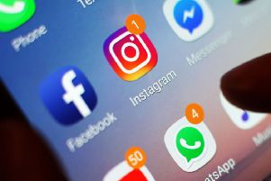 Self-harm figures were released as social media sites announced they would clamp down on the sharing of self-harm images.