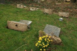 'The majority' of the gravestones that had been laid down are to be restored.