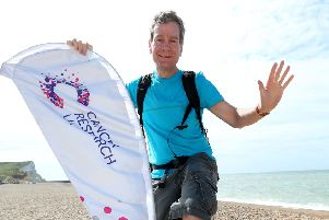 Laurence Walker is heading down the east coast of Yorkshire next week as part of his 3,500-mile walk around the UK.