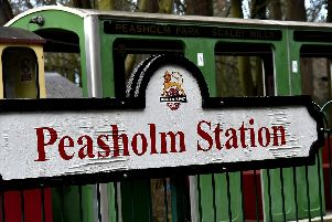 Peasholm Station in Northstead Manor Gardens